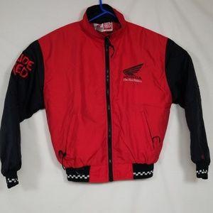 Men's, Honda Red Riders Racing Yeam Jacket Sz S